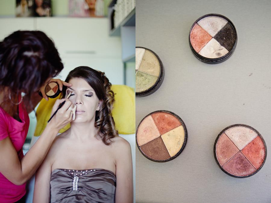 zdjęcia z przygotowań Panny młodej do ślubu