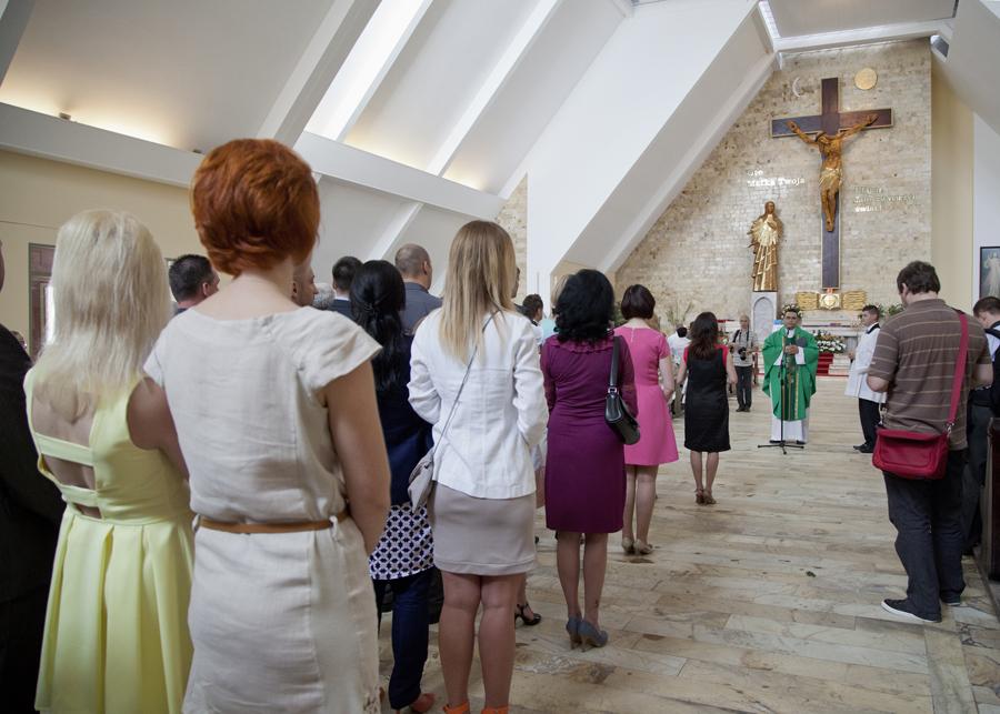 chrzest w Bełchatowie