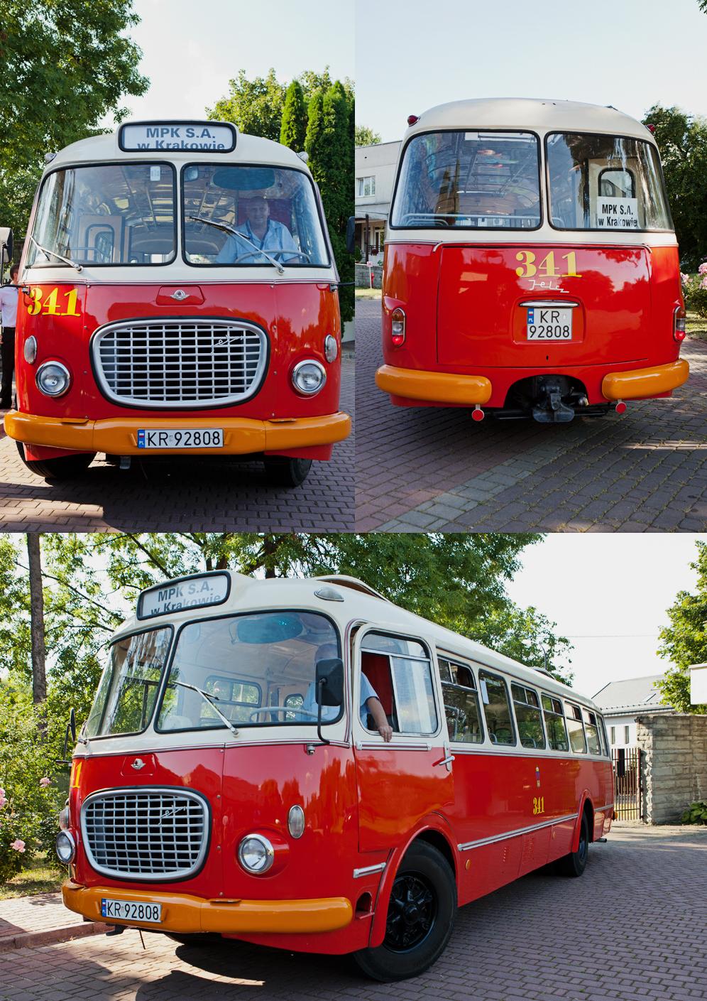 autobus dla gości weselnych