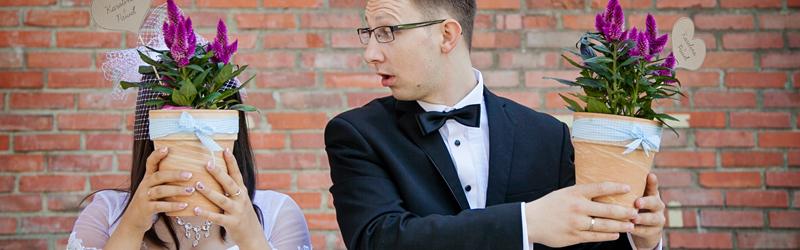 zdjęcia plener ślubny Głogów