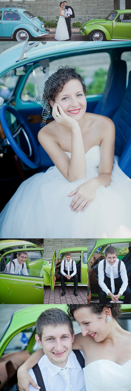 VW garbus na ślub