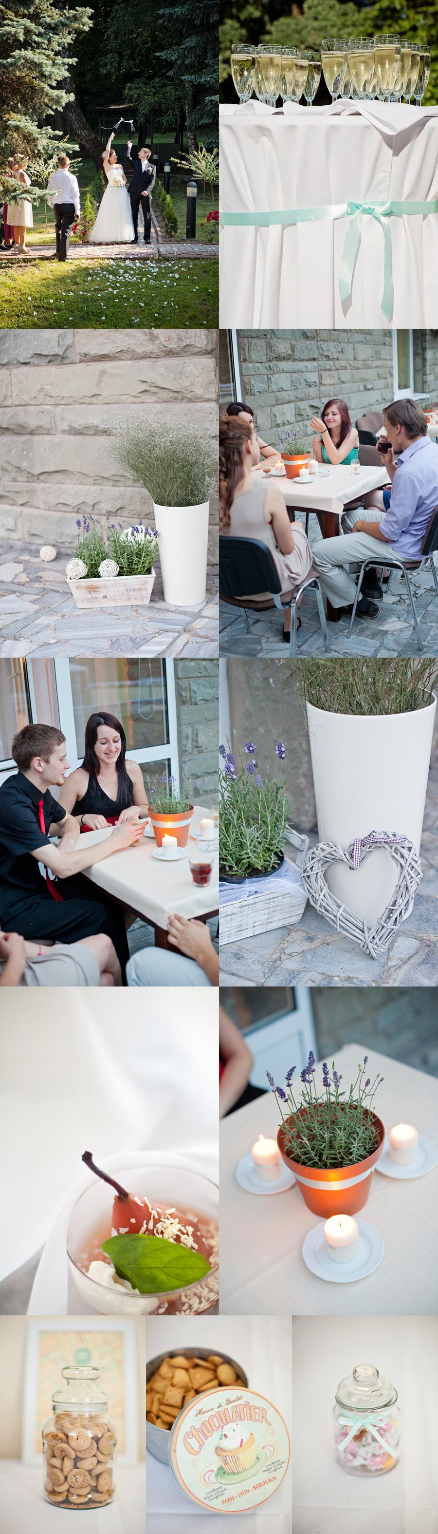 reportaż z przyjęcia weselenego w Krakowie