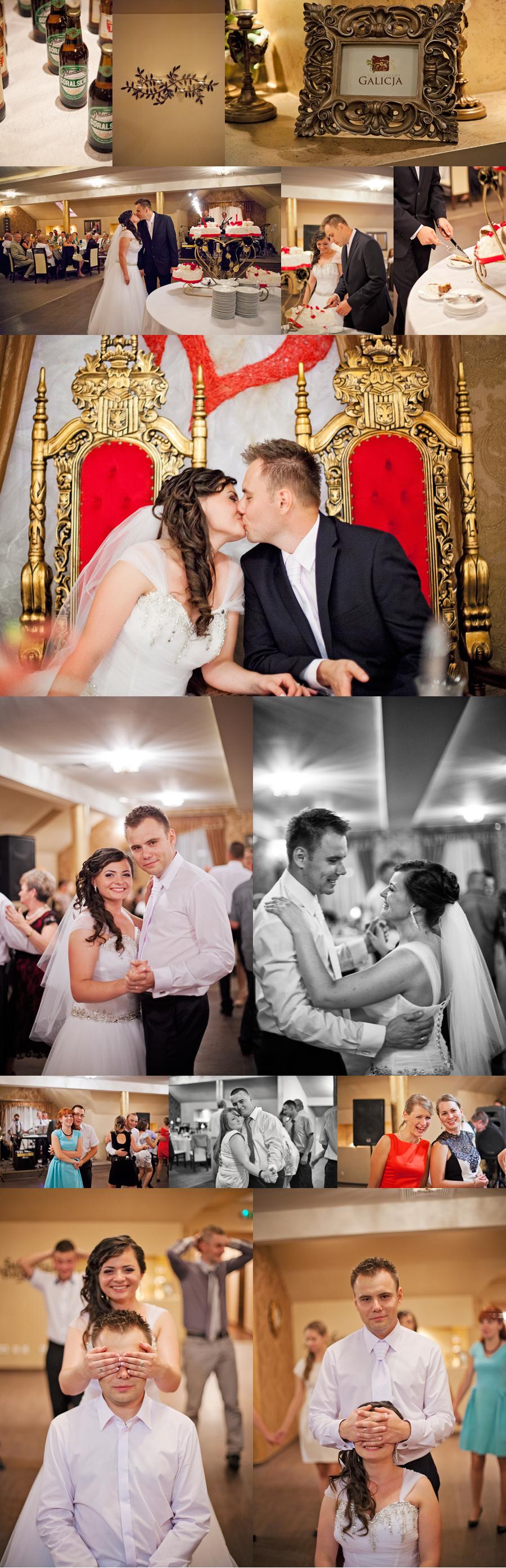 reportaż z przyjęcia weselnego