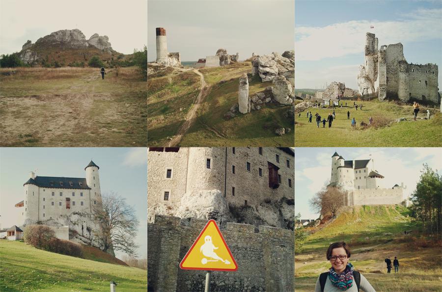 zamek mirów i bobolice fotografia