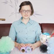 Jak zrobić pompony z tiulu – film