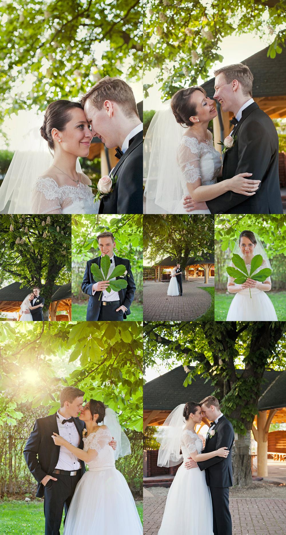 mini plener w dzień ślubu w restauracji pod Kasztanami Głogów