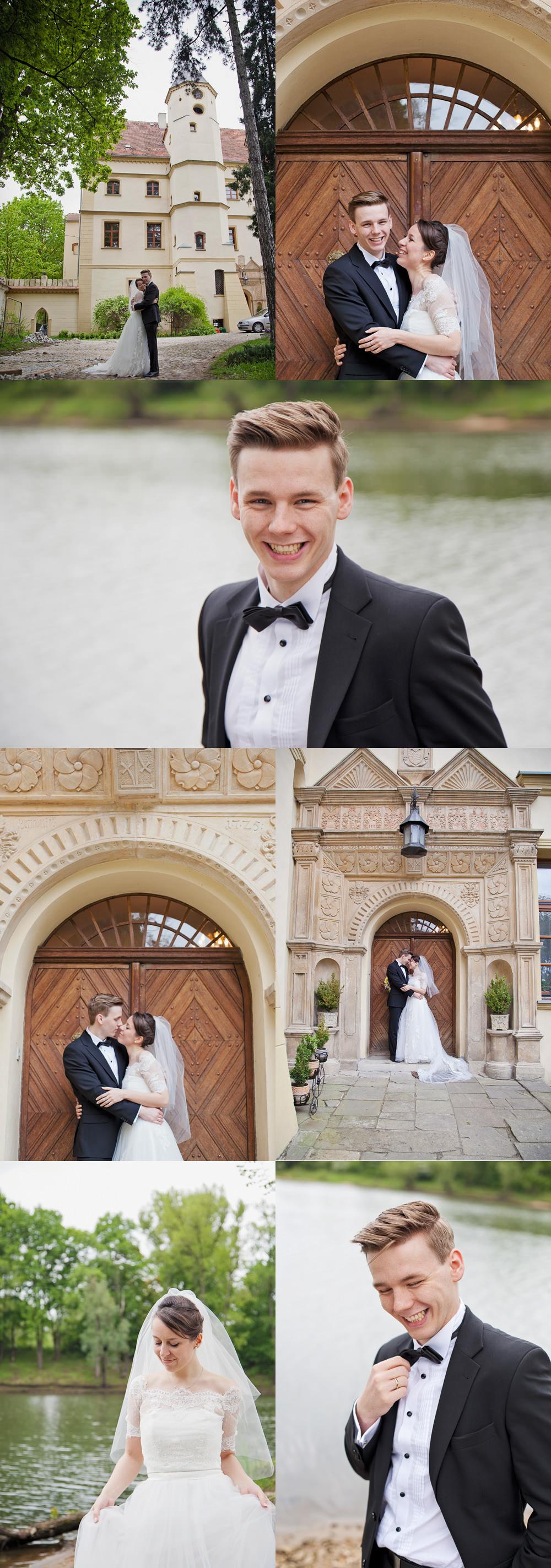 plner ślubny w zamku w Czernej