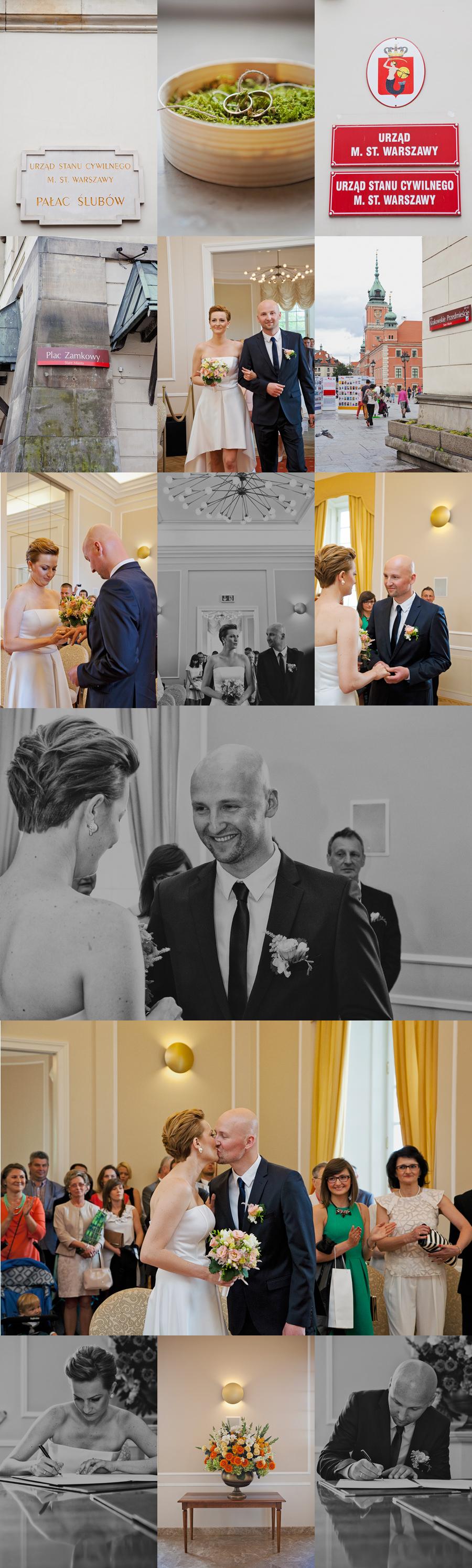 ślub cywilny warszawa fotograf
