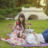 Narzeczeńska sesja fotograficzna w Łazienkach- Warszawa – wersja piknikowa