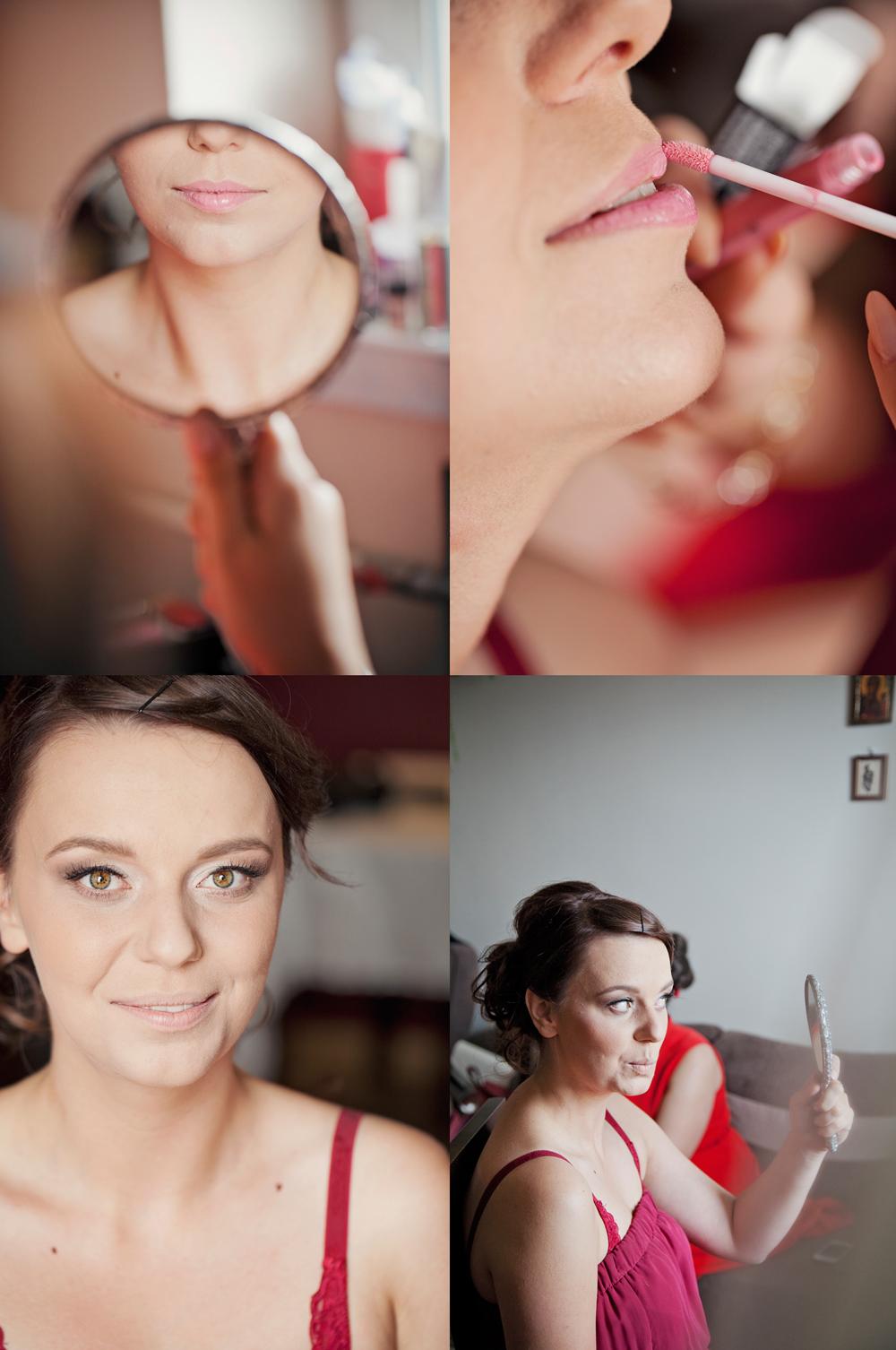 Pani fotograf zjęcia ślubne