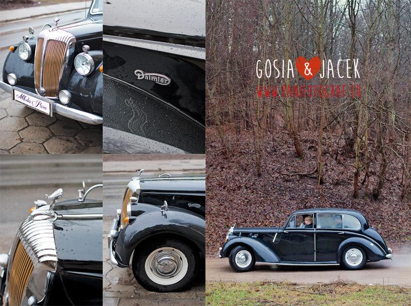 ślub Gdańsk zdjęcia samochód