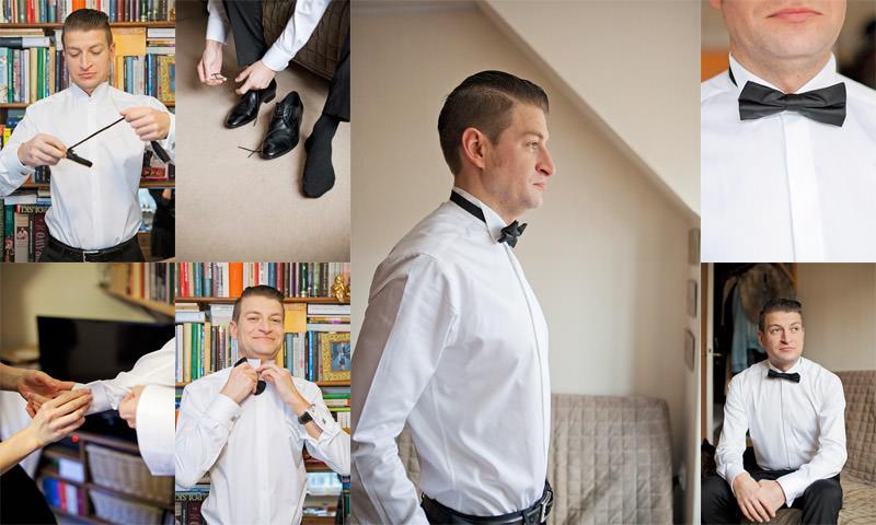 zdjęcia ślubne pan młody