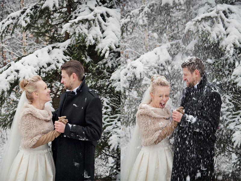 zimowy plener fotograficzny w Głogowie
