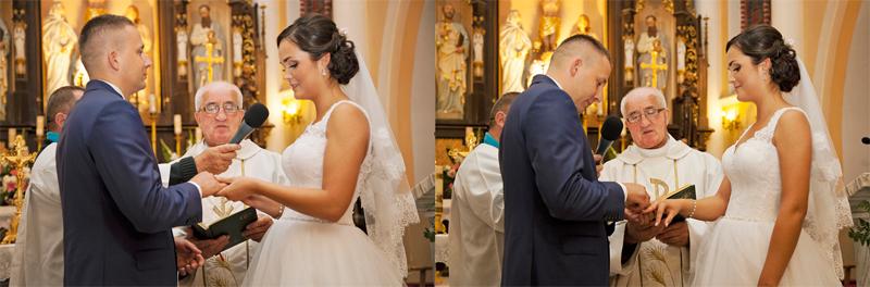 ceremonia zaślubin Warszawa fotografia