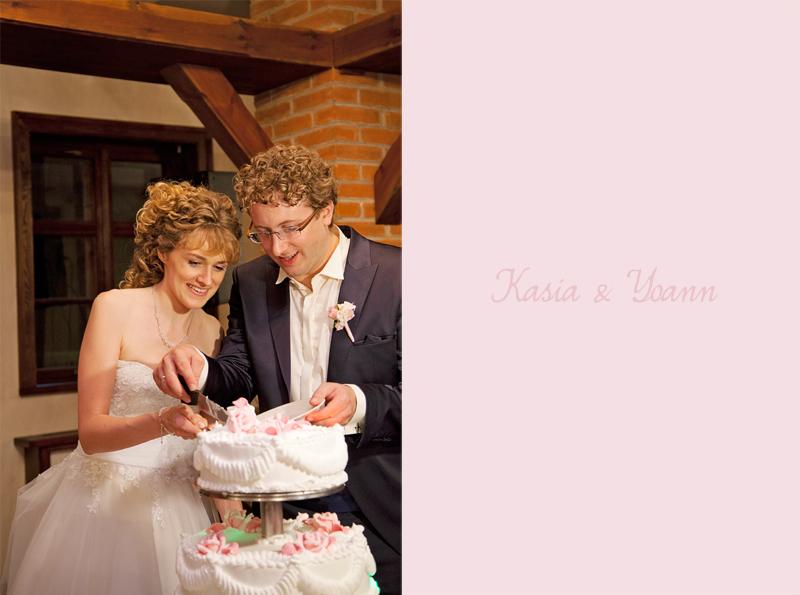 zdjęcia ślubne tort weselny