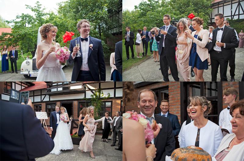 fotoreportaż ślubny łódź przyjęcie weselne