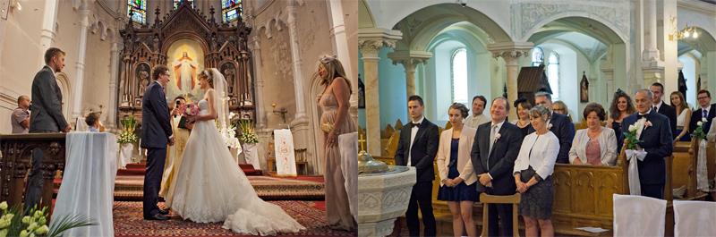 ceremonia zaślubin w kościele jezuitów łódź