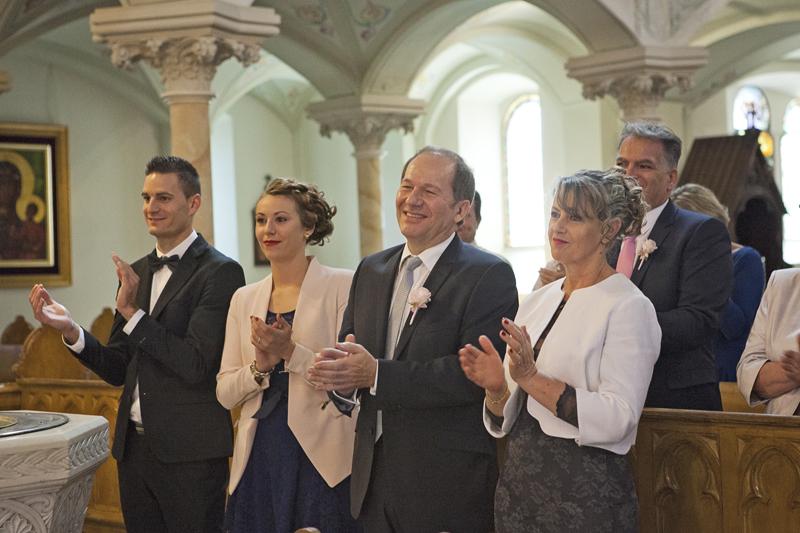 fotografia ślubna goście weselni