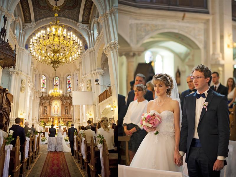 zdjęcia ślubne w kościele jezuitów w łodzi