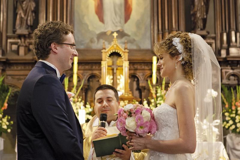 zdjęcia ślubne kościół jezuitów sienkiewicza łódź