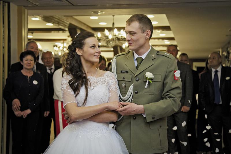 ślub leśna dolina Głogów