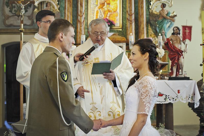 reportaż ślubny ceremonia