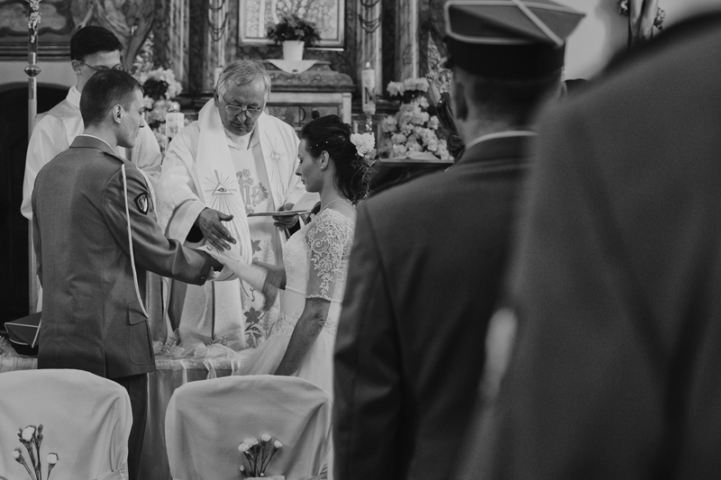 reportaż ślubny ceremonia zaślubin