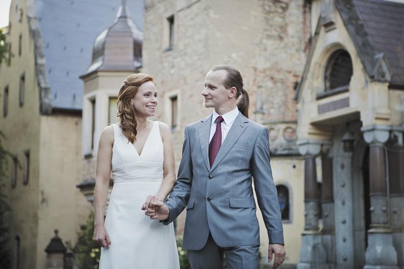 plener ślubny zamek sobótka