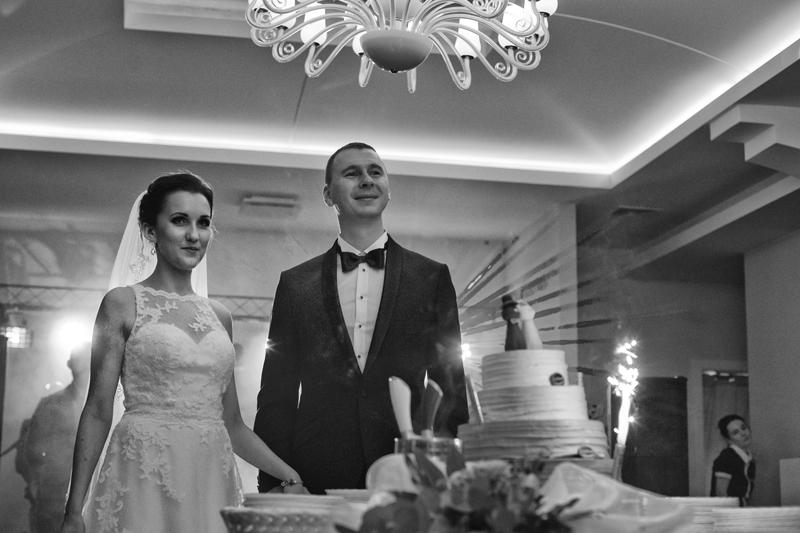 tort na weselu