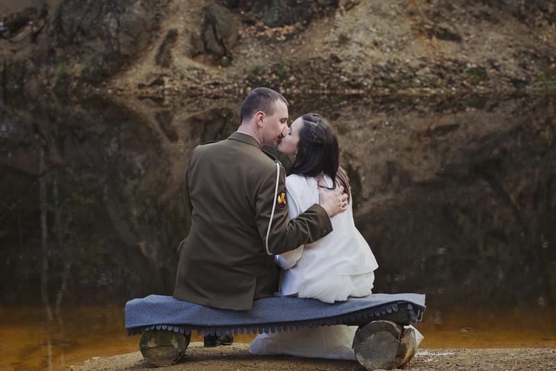 kolorowe jeziorka w rudawach janowickich plener ślubny
