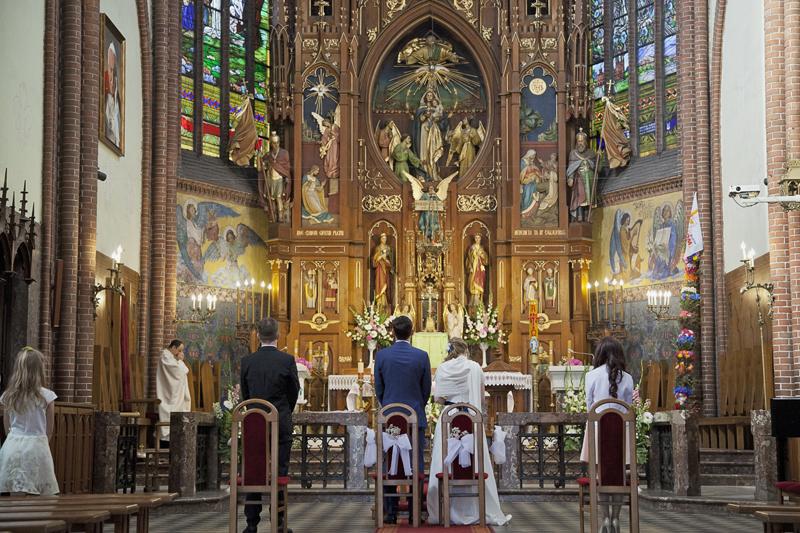 kościół Matki Bożej Pocieszenia w Żyrardowie